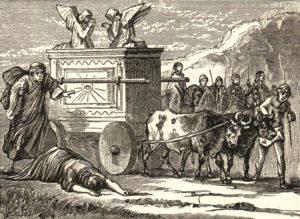 Ковчег завета в плену у филистимлян