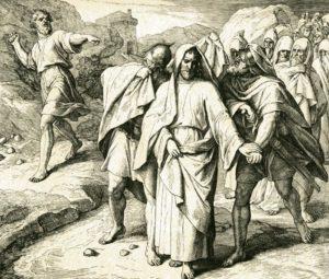 Бегство Давида
