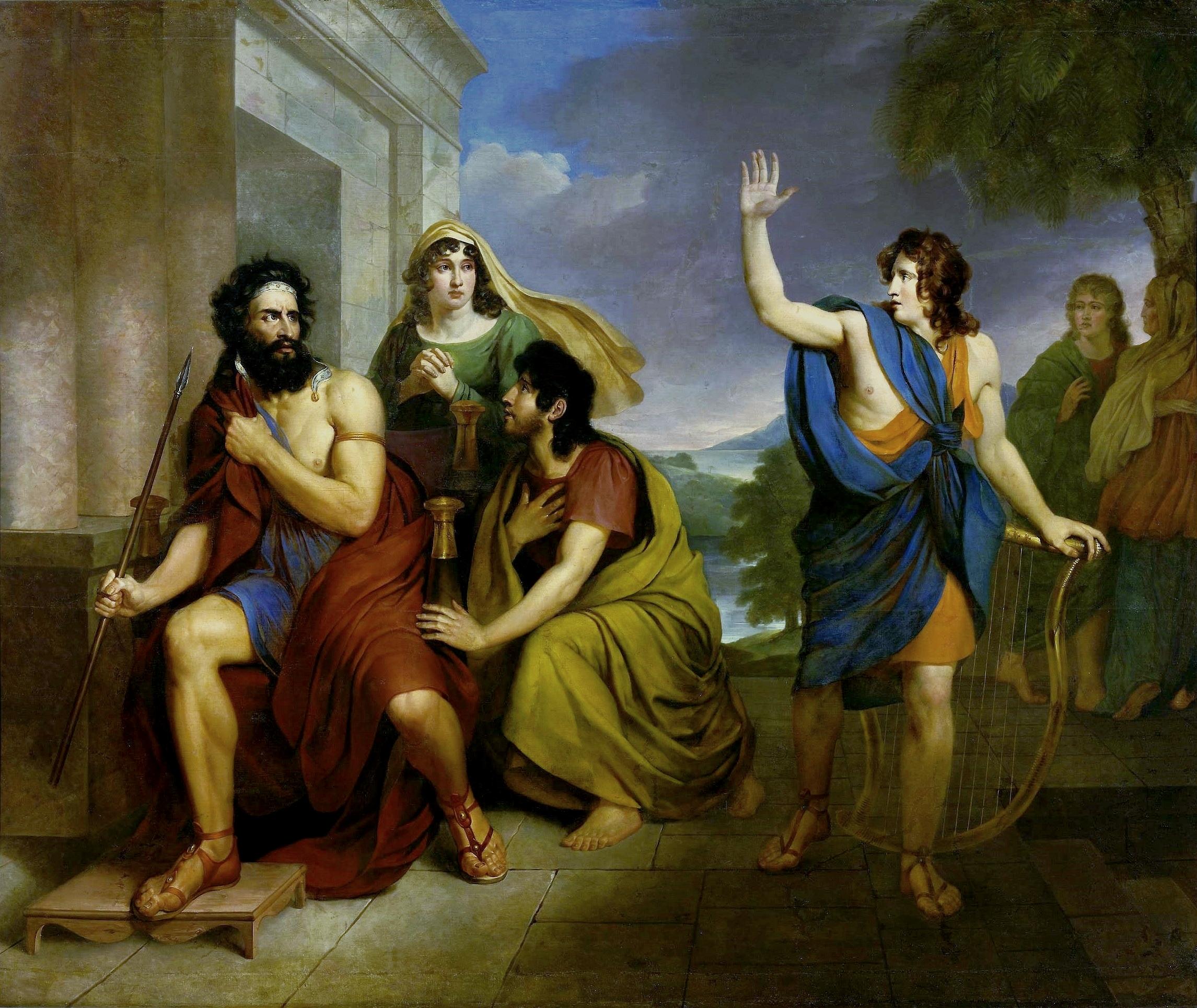 Вторичное бегство Давида
