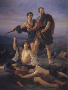 Смерть Саула и его сыновей